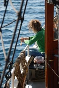 scheepskok, catering zeilschepen